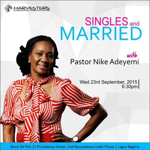 SINGLE MARRIED WITH NIKE ADEYEMI DP