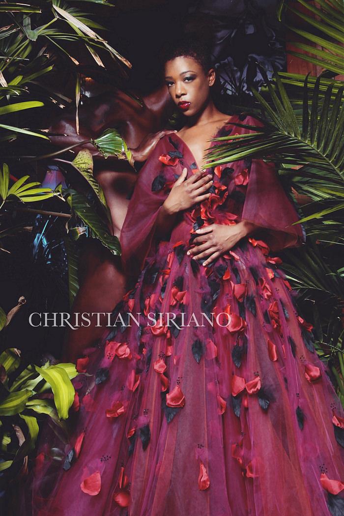 Samira Wiley for Christian Siriano Fall 2015 - BellaNaija - September 2015001