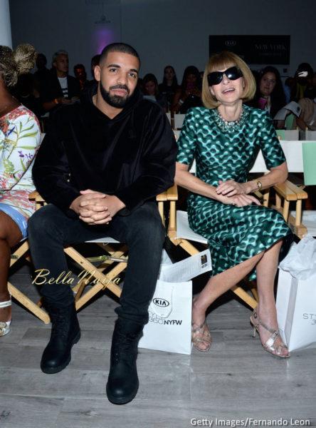 Drake & Anna Wintour