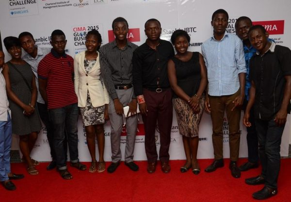 Students on the red carpet