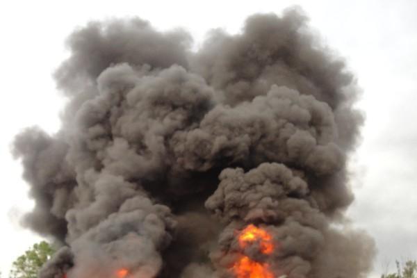 Sudan Truck Fire