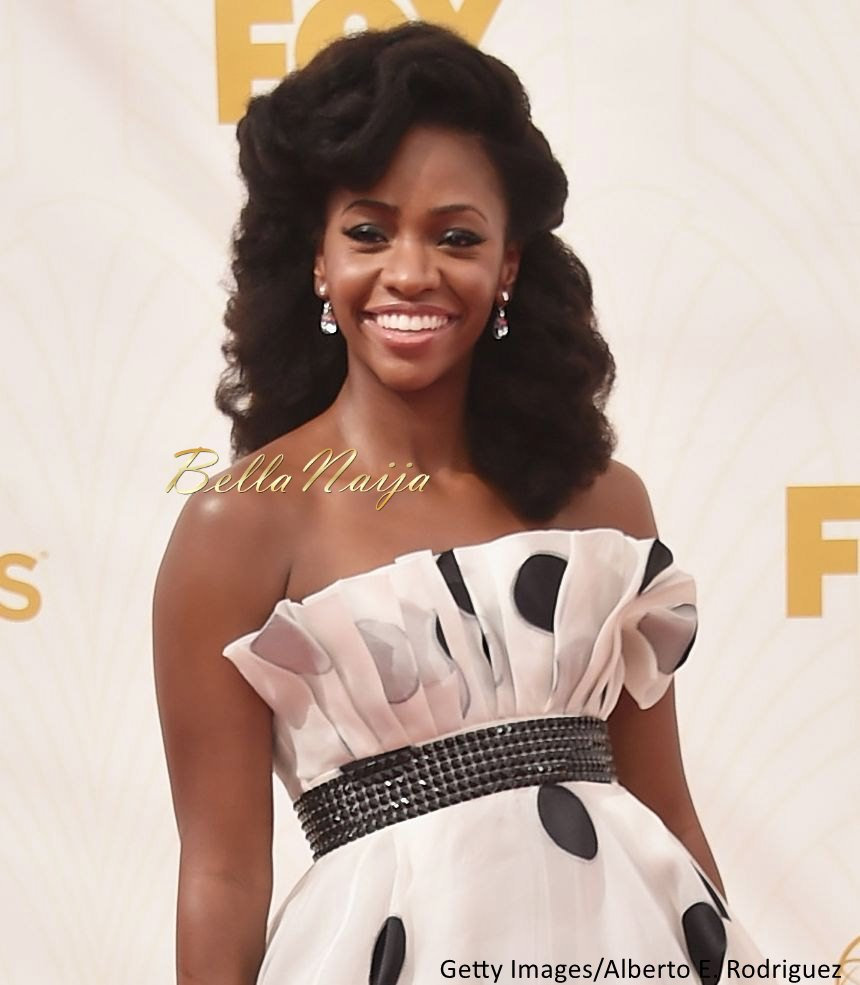 Teyonah Parris Hairstyle at the Emmys - Bellanaija - September001
