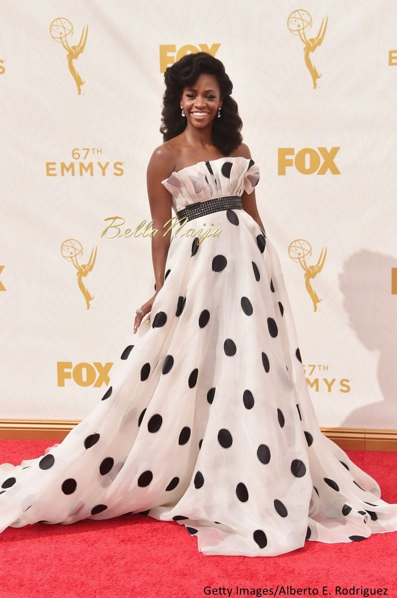 Teyonah Parris Hairstyle at the Emmys - Bellanaija - September003