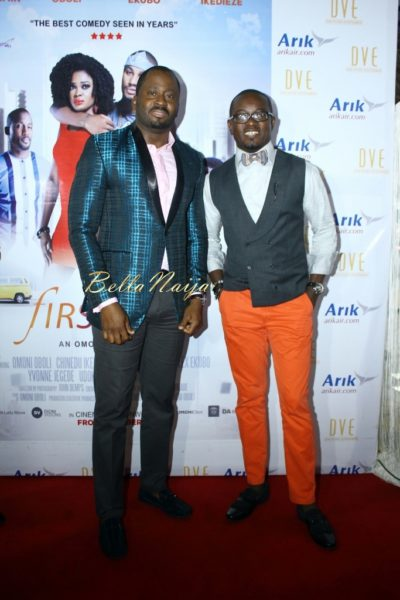 Desmond Elliot & Uche Nnaji