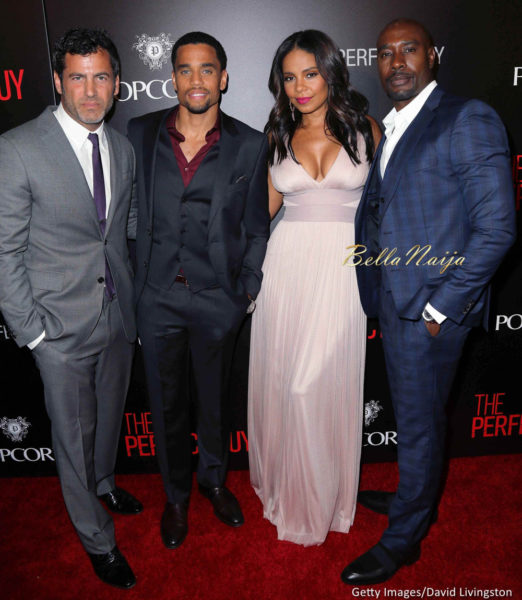 Director David M. Rosenthal and actors Michael Ealy, Sanaa Lathan and Morris Chestnut