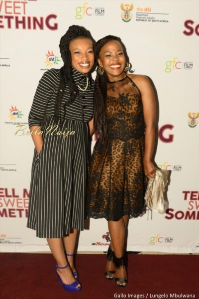 Trusty Ndimande and Lala Tuku