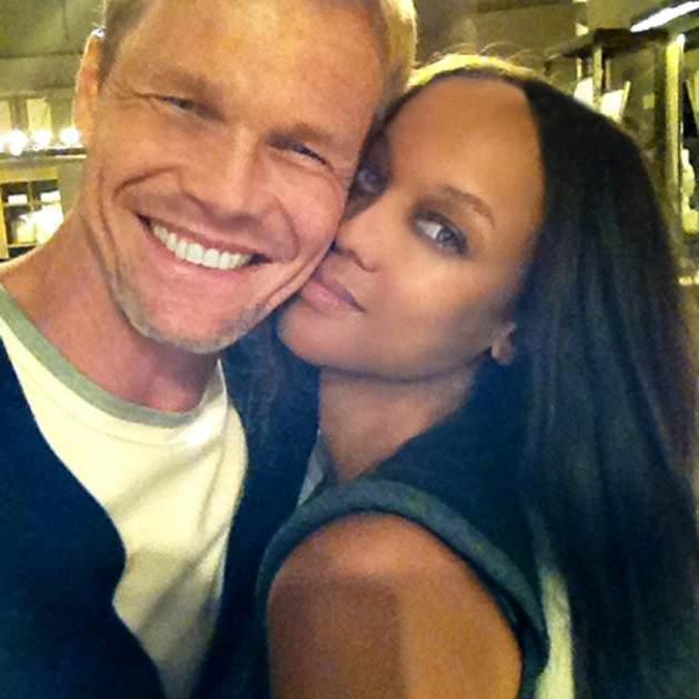 Tyra with boyfriend Erik Asla