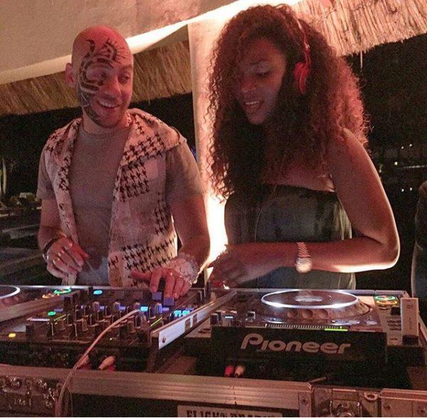 DJ Sose & Genevieve Nnaji