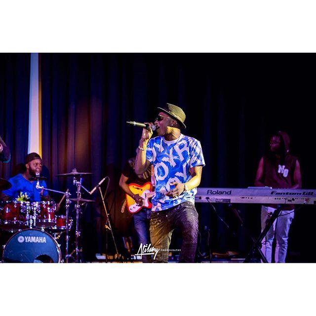 Wizkid in Abuja - Delphino