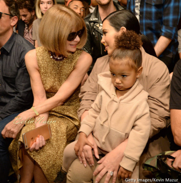 Seth Meyers, Anna Wintour, Kim Kardashian & North West