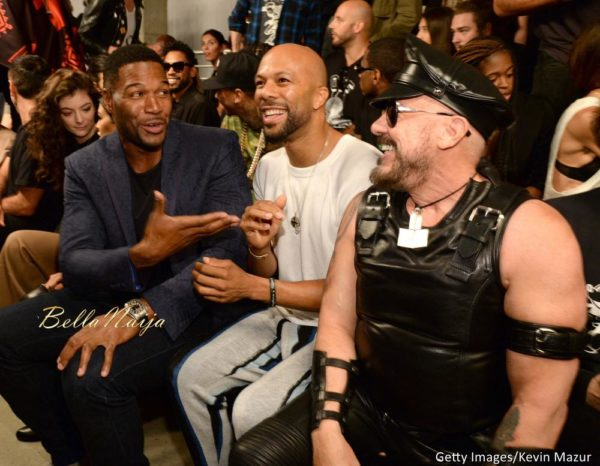 Michael Strahan and Common
