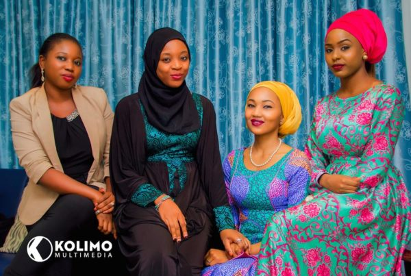 Yejide Bello (Vice President Admin), Bashyra Hassan (Acting President of the Sickle Cell Aid Foundation) Zahra Buhari, Brand Ambassador and Simnah M. Sambo
