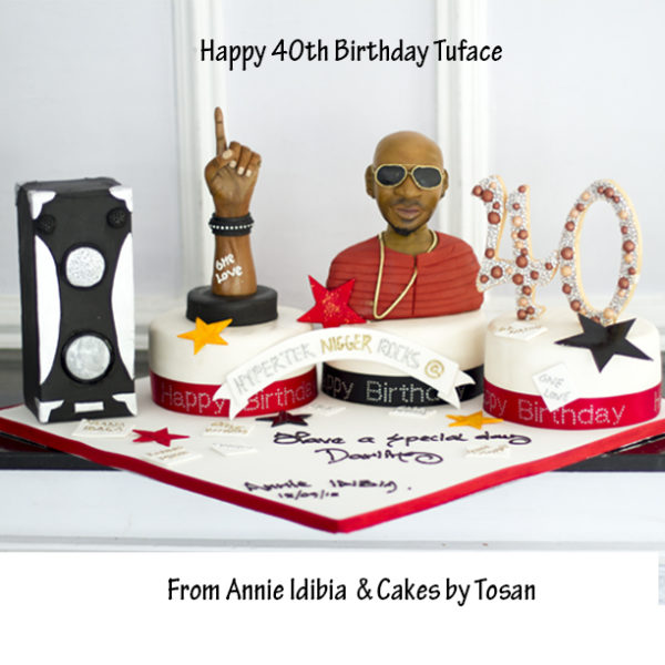 tuface birthday cake