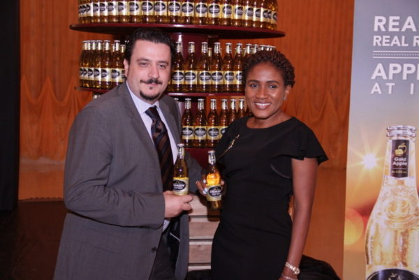01-Marketing Director, NB, Franco Maria Maggi and Senior Brand Manager, Strongbow, Ngozi Nkwoji