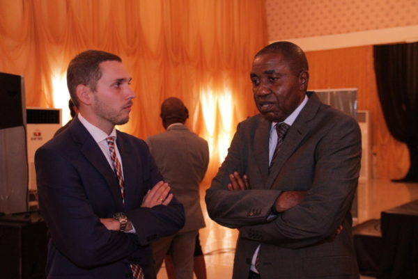 05-Trade Marketing Executive Manager, Mateusz Sikora and Sales Director, NB PLC, Hubert Eze