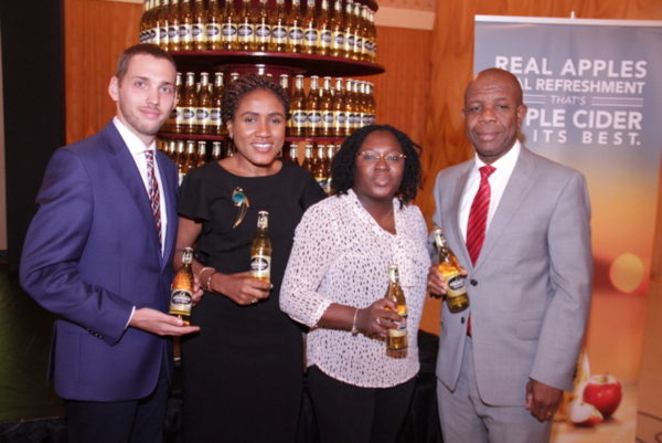 06-Trade Marketing Executive Manager, Mateusz Sikora, Senior Brand Manager, Strongbow, Ngozi Nkwoji, Brand Manager, Strongbow, Kehinde Kadiri and Senior Strategy Manager, NB, Tony Agenmonmen 1