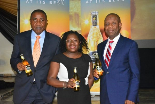 13-Sales Director, NB Plc, Hubert Eze, Brand Manager, Strongbow, Kehinde Kadiri and Senior Strategy Manager, NB Plc, Tony Agenmonmen