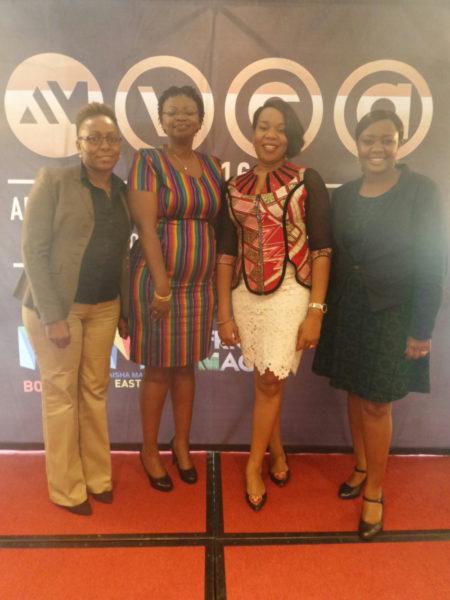 Margaret Mathone, Njoki Muhoho, Wangi Mba-Uzoukwu and Barbara Kambogi
