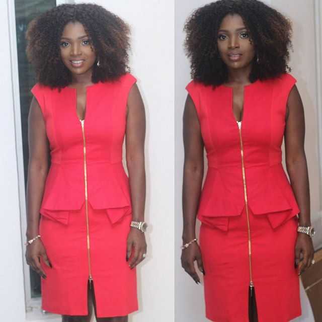 2Face Book Launch Annie in Red