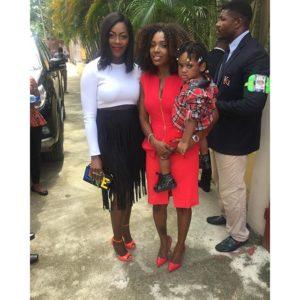 Tiwa Savage, Annie Idibia & 2Face's son