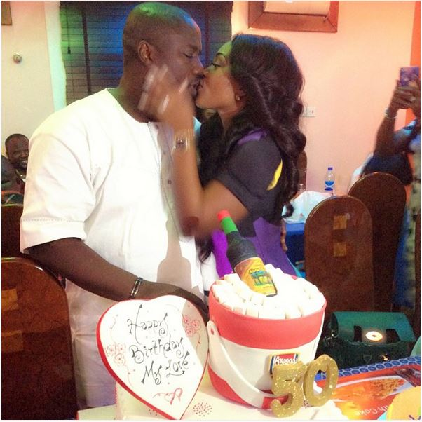 Mercy Aigbe Gentry Celebrates Her Husband S 50th Birthday