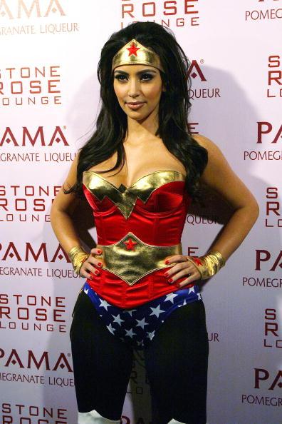 Kim Kardashian And PAMA's Halloween Masquerade