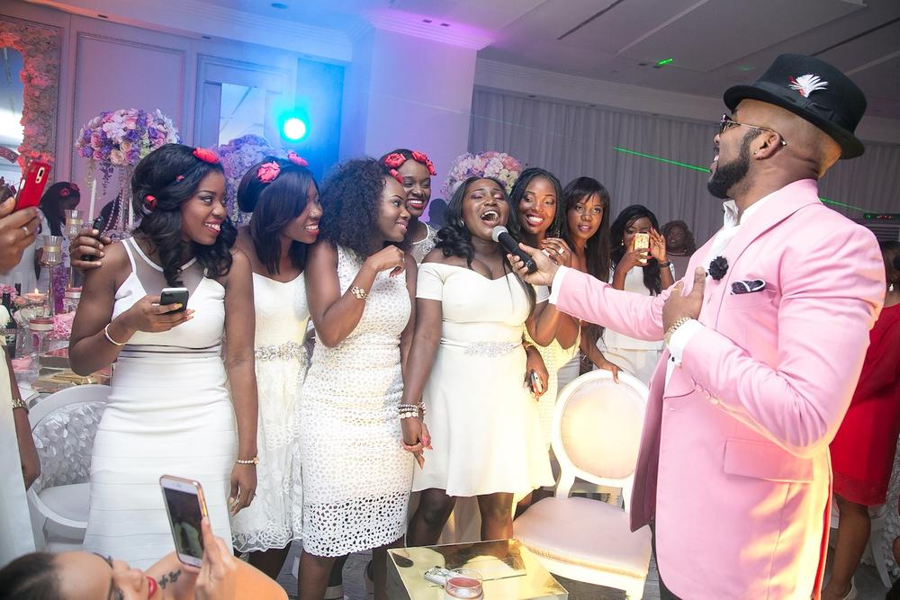 BBNWonderland Brides Sing Along to Banky W