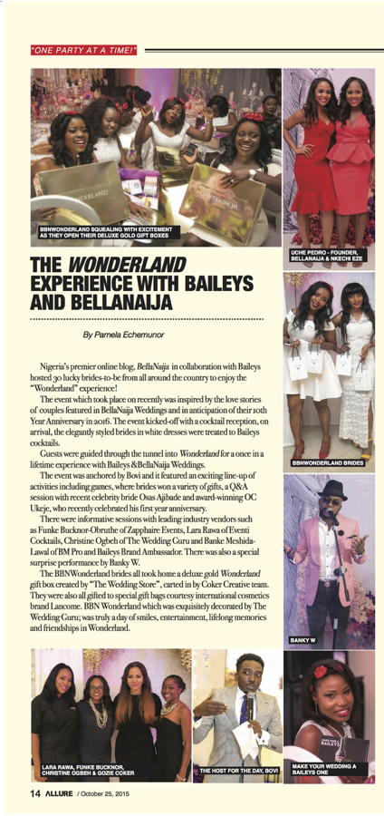 #BBNWonderland in Vanguard Allure-BellaNaija Weddings & Baileys_reduced