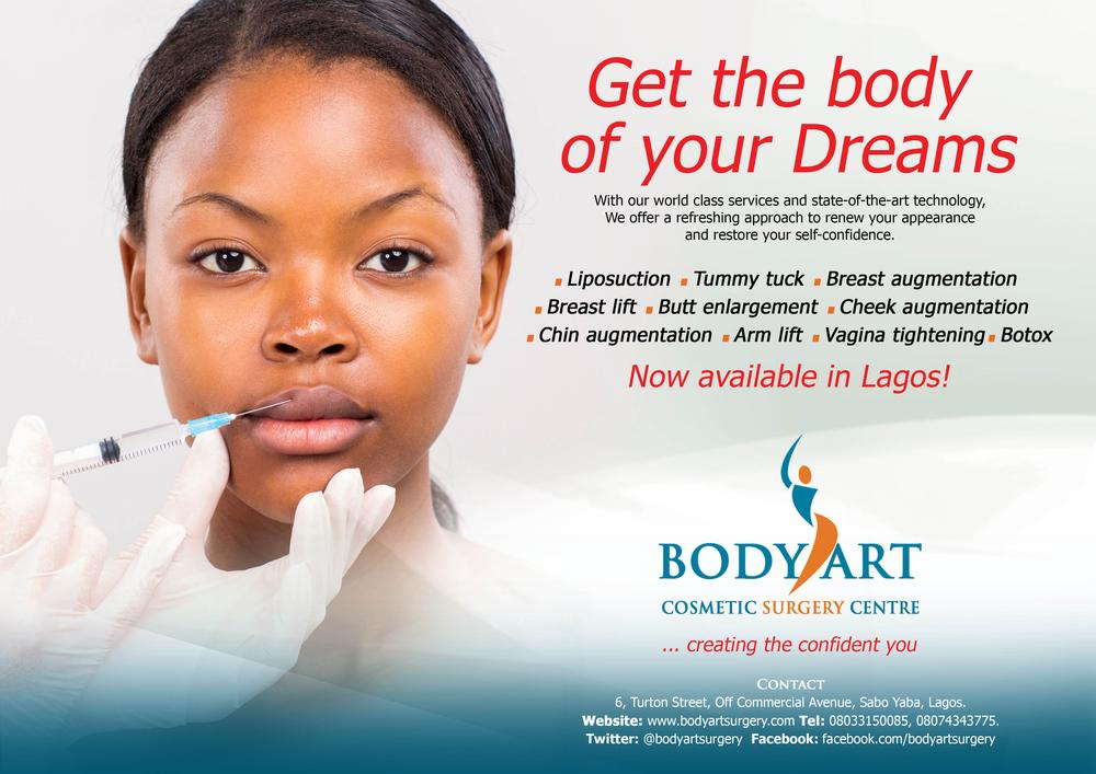 Body Art Commences Cosmetic Surgery Procedures In Lagos From October 26th 28th Bellanaija