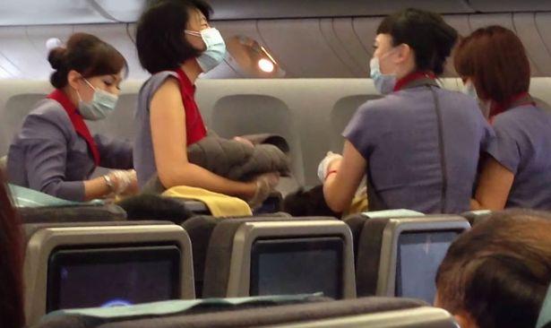 Baby born on plane