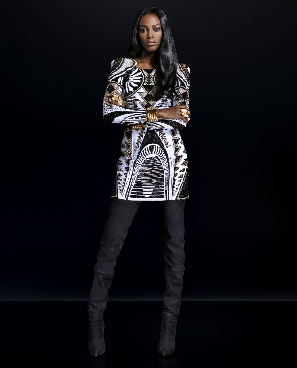 Balmain for H&M Collaboration Collection - Bellanaija - September004