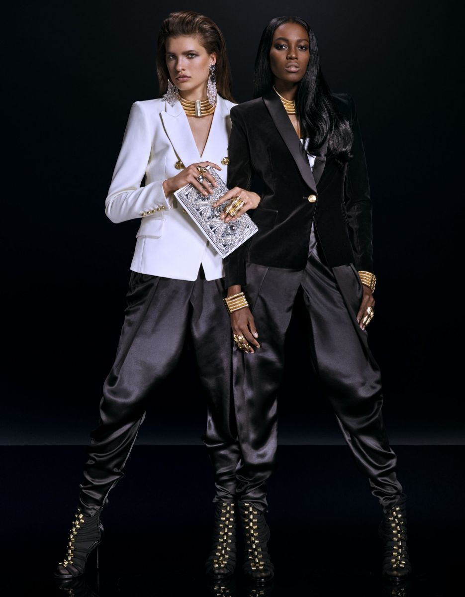 Balmain for H&M Collaboration Collection - Bellanaija - September006