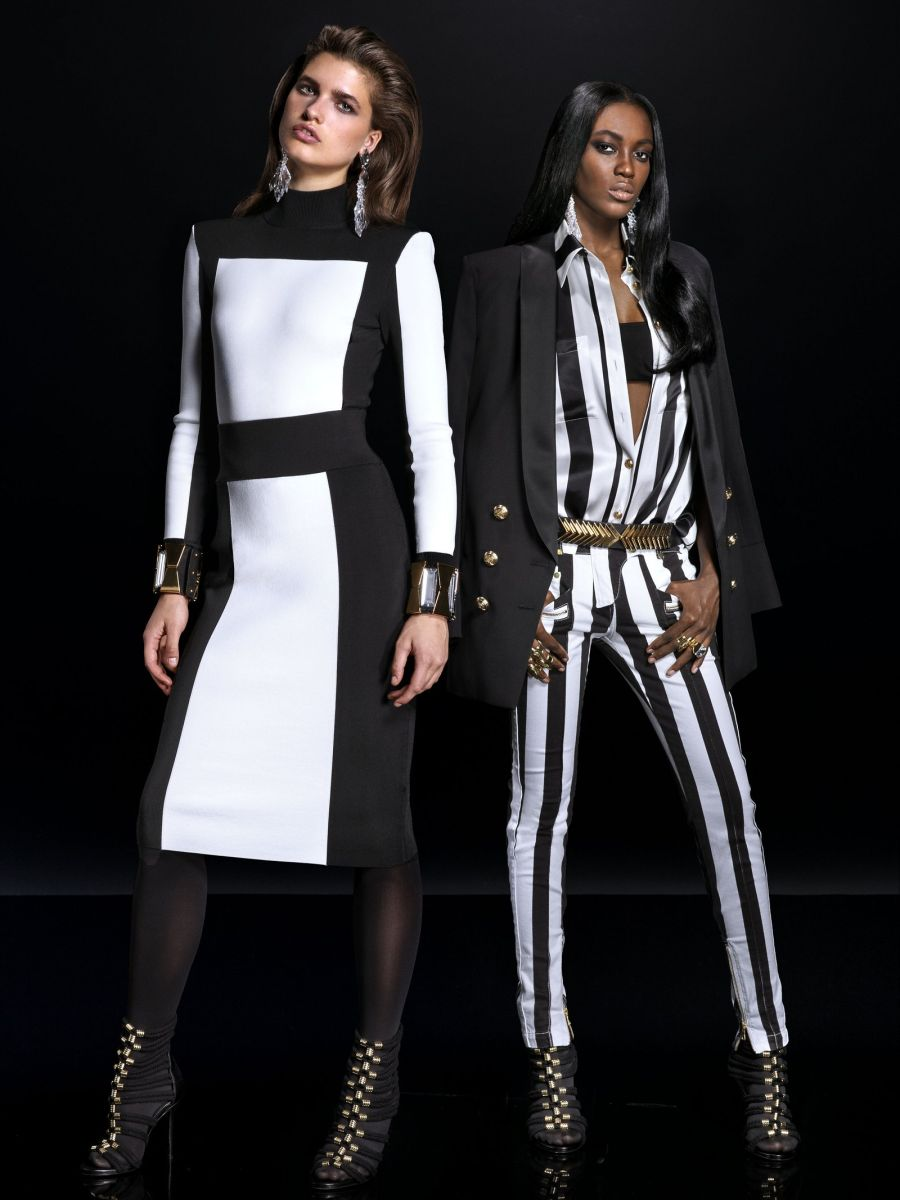 Balmain for H&M Collaboration Collection - Bellanaija - September007