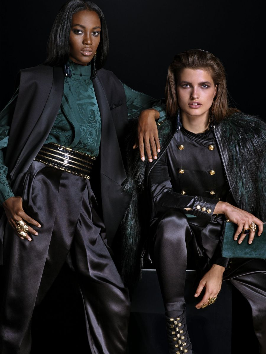 Balmain for H&M Collaboration Collection - Bellanaija - September008