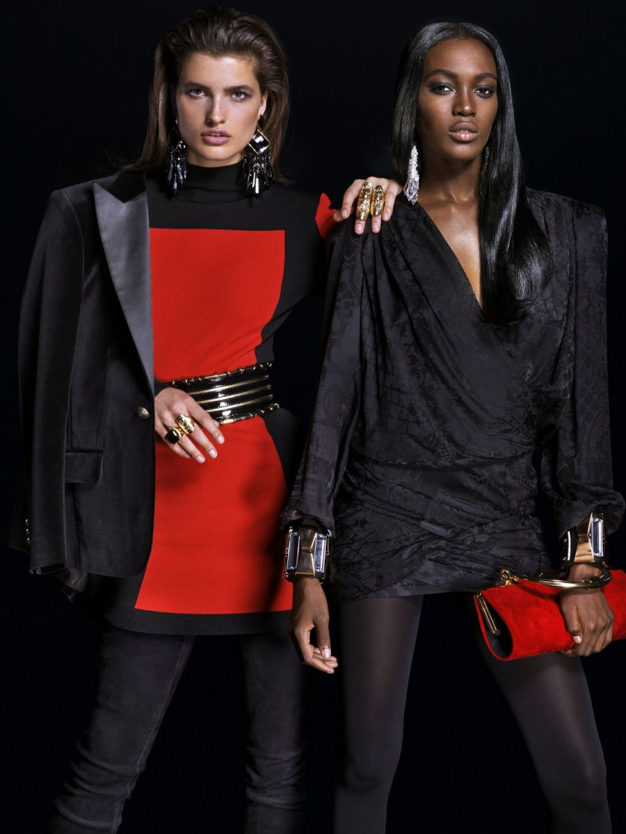 Balmain for H&M Collaboration Collection - Bellanaija - September009