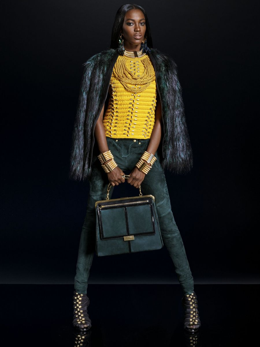 Balmain for H&M Collaboration Collection - Bellanaija - September011