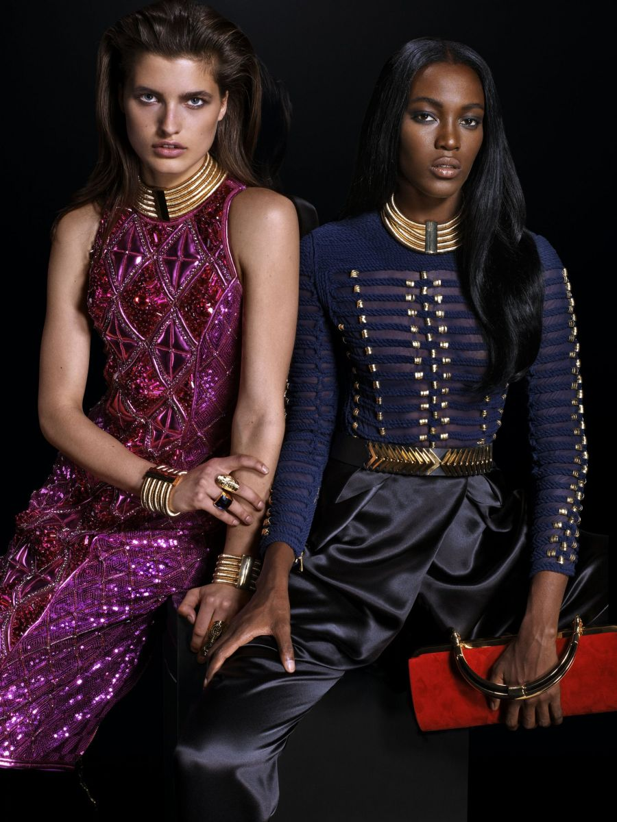 Balmain for H&M Collaboration Collection - Bellanaija - September013