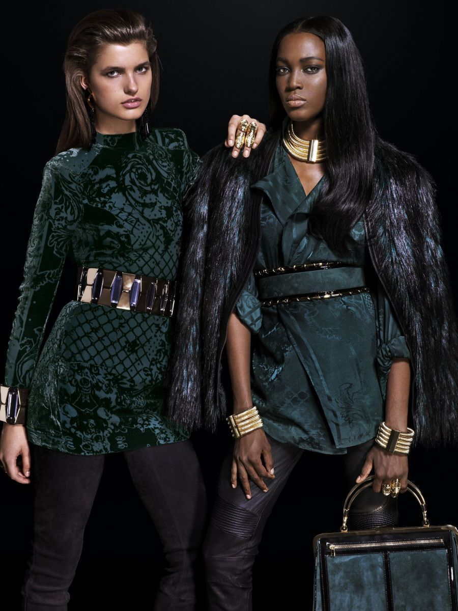 Balmain for H&M Collaboration Collection - Bellanaija - September018