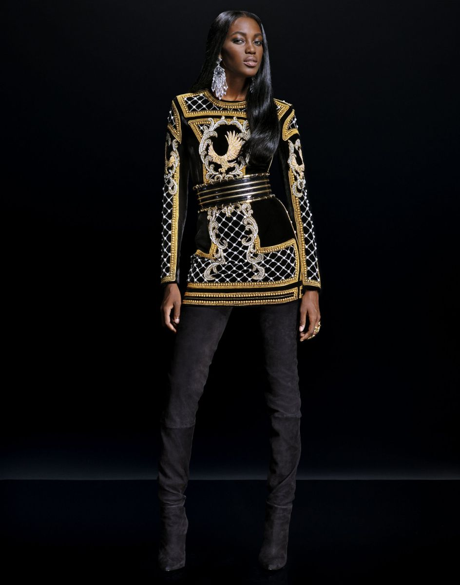 Balmain for H&M Collaboration Collection - Bellanaija - September019