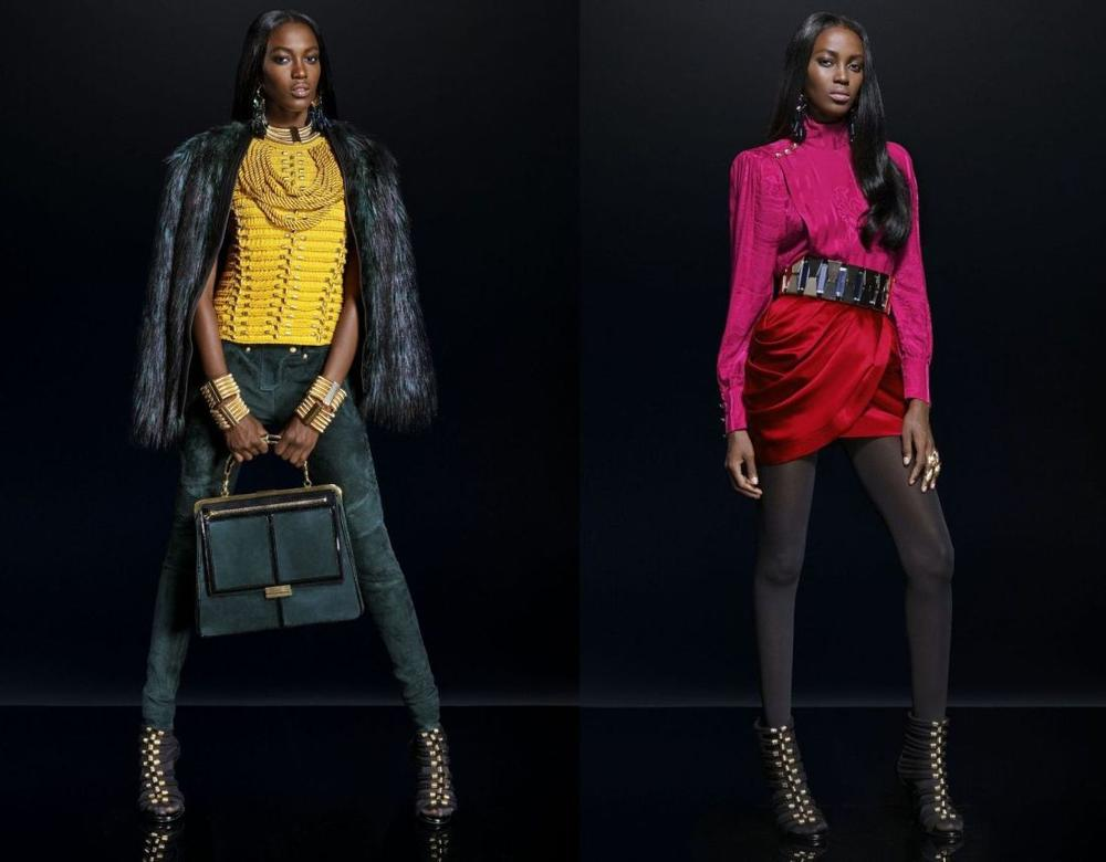 Balmain for H&M Collaboration Collection - Bellanaija - September023