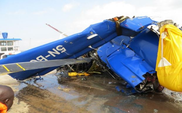 Bristow Helicopter Remains