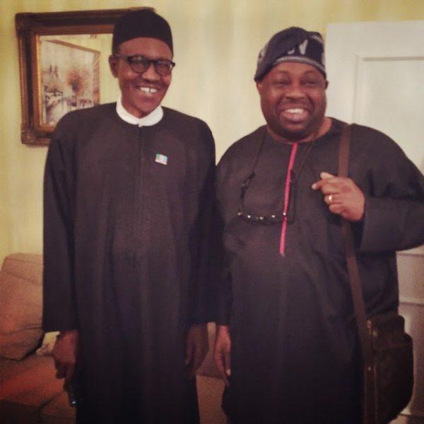 Buhari and dele momodu