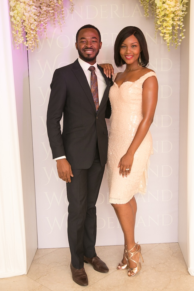 Celebrity Bride & Groom, Osas Ajibade & OC Ukeje