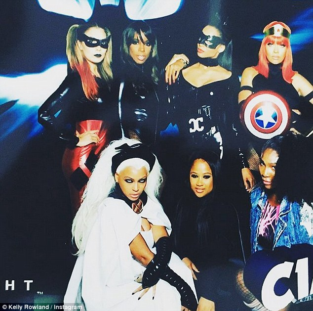 Ciara Birthday Beyonce Kelly Rowland 5