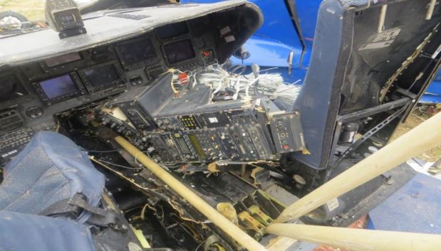 Cockpit Wreckage