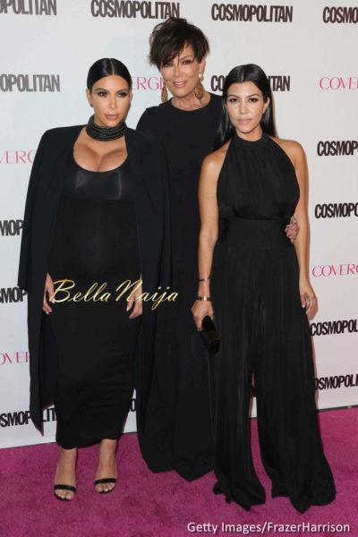 Kim Kardashian West, Kris Jenner & Kourtney Kardashian