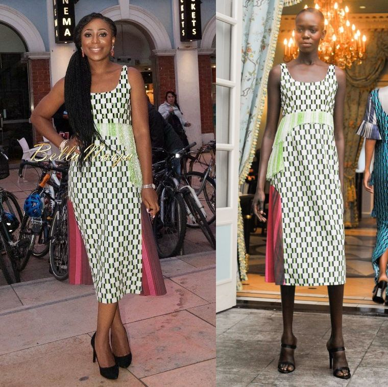 Dakore Akande in Lisa Folawiyo - BellaNaija - October 2015