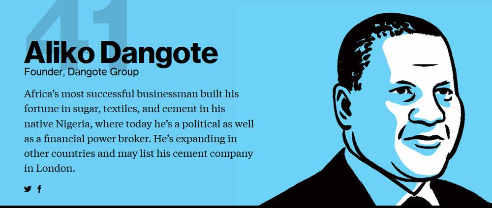 Dangote Bloomberg