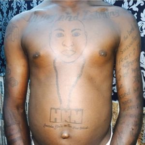 Davido HKN Tattoo