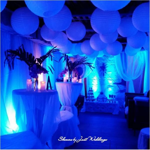Decor by Showers by Just Weddings